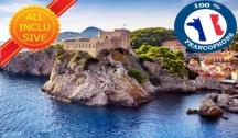 Les trésors de l'Adriatique : Croatie, Grèce, Albanie et Monténégro (DCA) 5 Ancres Vols Inclus