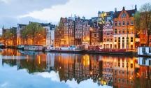 Les Îles Britanniques (Amsterdam) via Glasgow, Cherbourg & Bruxelles
