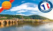 4 Fleuves : les Vallées, de la Moselle, de la Sarre, du Rhin Romantique & du Neckar (RSB_PP) 4 Ancres MS Mona Lisa ou MS Léonard de Vinci