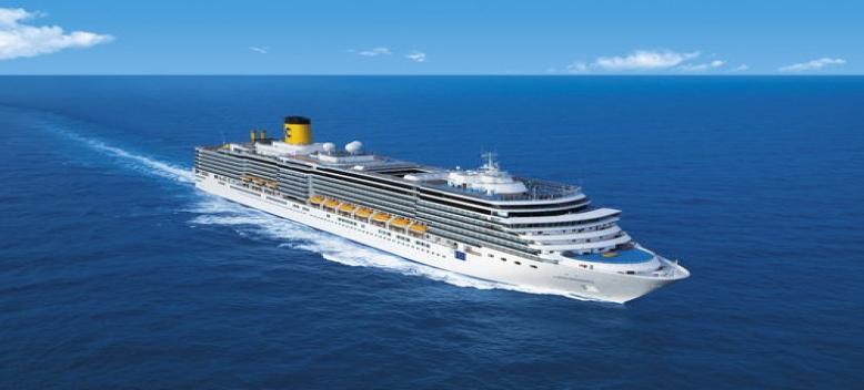 Croisi re costa vieux nouveau monde retour port everglades marseille bord du bateau costa - Port embarquement croisiere marseille ...