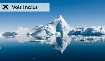Groënland, Islande & Irlande (Paris/Kangerlussuaq-Dunkerque/Paris) Vol Aller Inclus & Transfert Retour