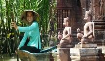 Des Temples d'Angkor au Delta du Mékong (Siem Reap-Hanoï)4 Ancres 1R6 Vol Inclus